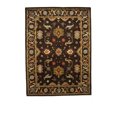 Tempest Cola Area Rug Rug Size: 8 x 11