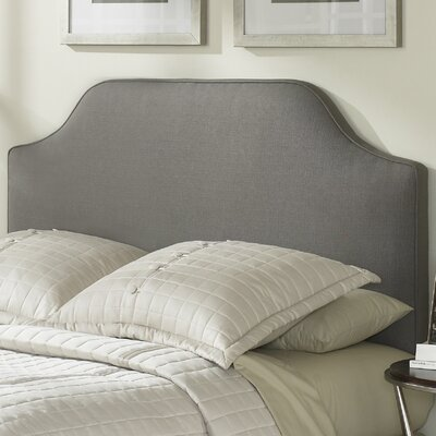 Bordeaux Upholstered Panel Headboard Size: King
