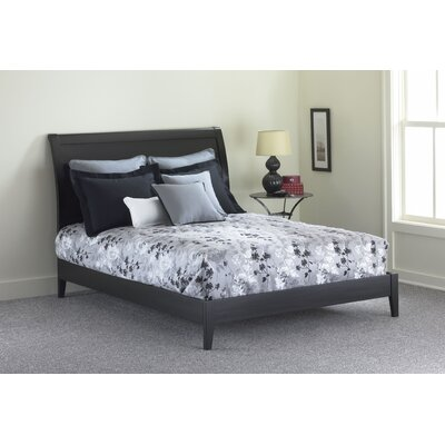 Java Platform Bed Size: King, Color: Black
