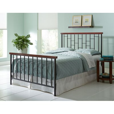 Interlude Panel Bed Size: King