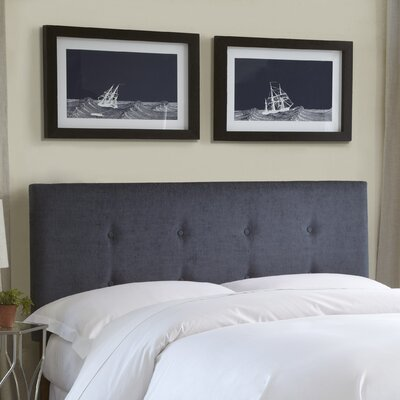 Baden Upholstered Panel Headboard Size: King/California King