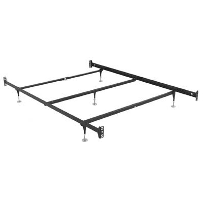 Hook On Bed Rails Size: Queen
