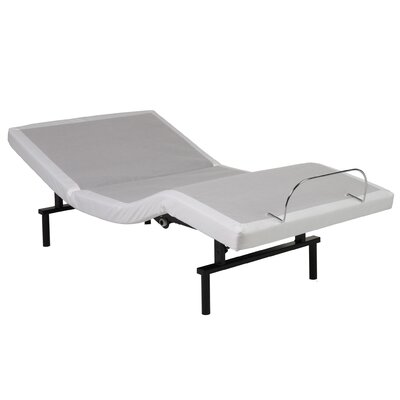 Extra Long Twin Upholstered Adjustable Bed