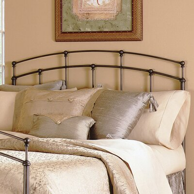 No credit check financing Fenton Metal Headboard Size: King...