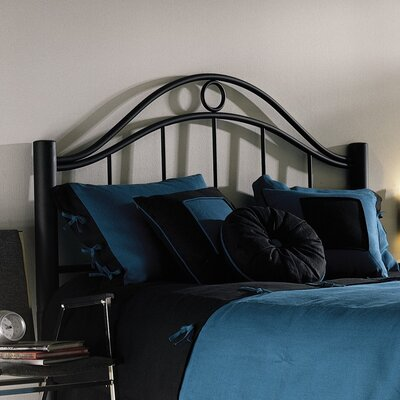 No credit financing Linden Metal Headboard Size: Queen...