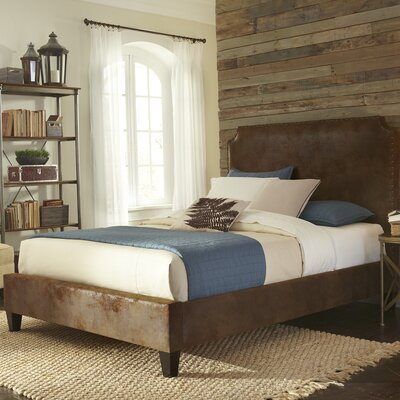 Canterbury Upholstered Panel Bed Size: Queen