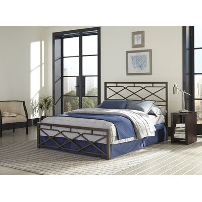 Alpine Panel Bed Size: King