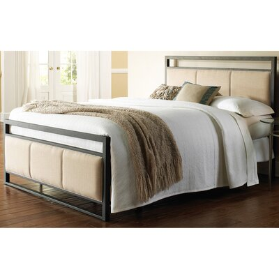 Danville Upholstered Panel Bed Size: California King