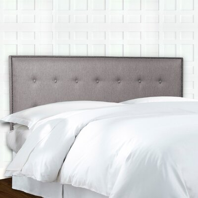 Easley Button Upholstered Panel Headboard Size: King / California King