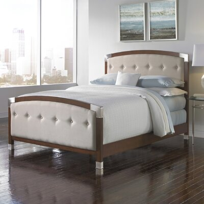 Genesis Upholstered Platform Bed Size: Queen