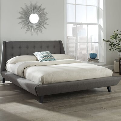 Prelude Upholstered Platform Bed Size: Queen