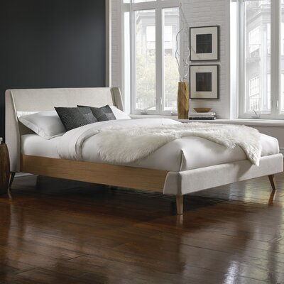 Palmer Upholstered Platform Bed Size: King