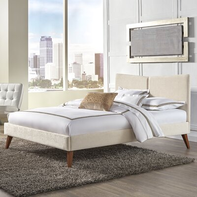 Parklad Upholstered Panel Bed Size: Queen