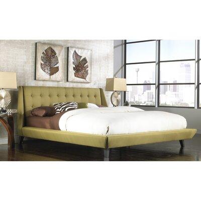 Prelude Upholstered Platform Bed Size: Queen