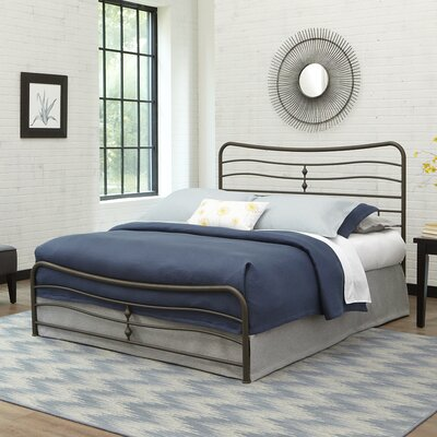 Cosmos Panel Bed Size: King