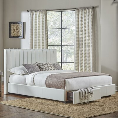 Cawley Upholstered Storage Panel Bed Size: California King