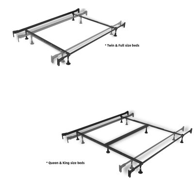 Leavitt Metal Panel Bed Size: King