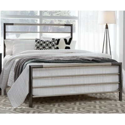 Cherwell Metal Open-Frame Headboard Size: King