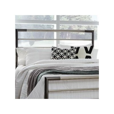 Cherwell Metal 2 Piece Open-Frame Headboard and Footboard Set Size: California King