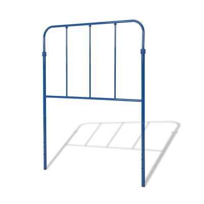 Collin Metal Kids Headboard Finish: Cobalt Blue, Size: Twin