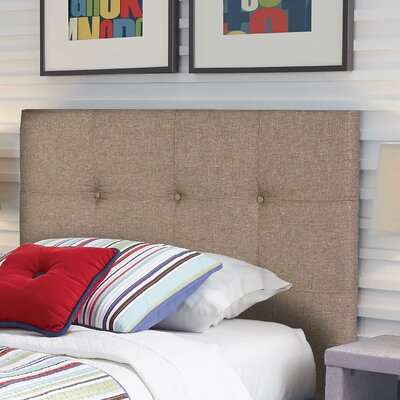 Betty Upholstered Panel Headboard Size: Twin