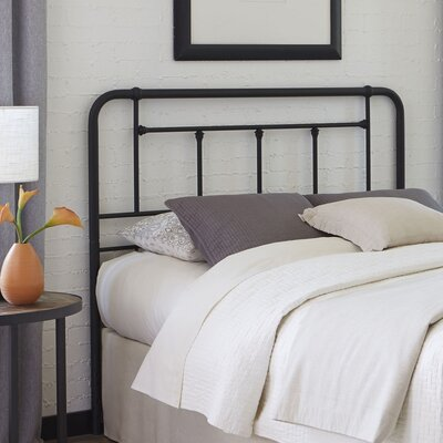 Maryellen Metal Open-Frame Headboard Size: California King