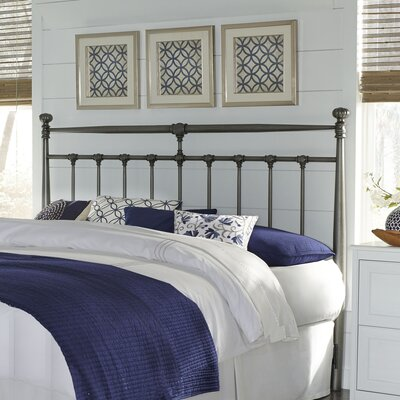 Piccadilly Metal Open-Frame Headboard Size: King