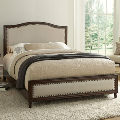 Corvin Upholstered Panel Bed Size: Queen