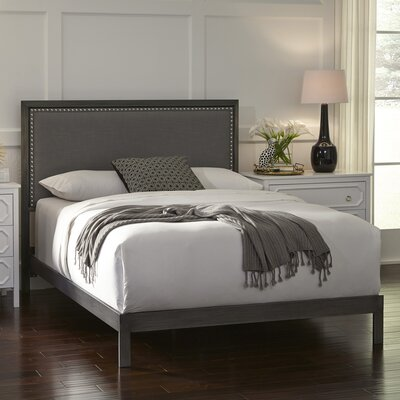 Elienor Upholstered Panel Bed Size: California King