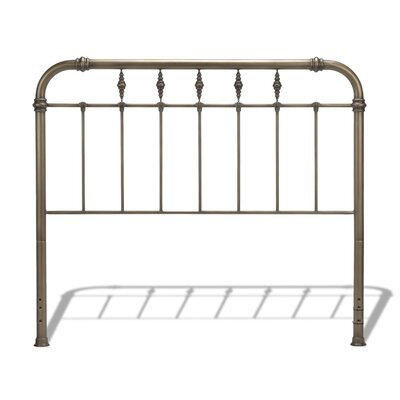Analleli Metal Frame Panel Bed Size: Queen
