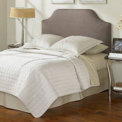 Bordeaux Upholstered Panel Bed Size: Twin