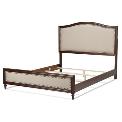 Corvin Upholstered Panel Bed Size: King