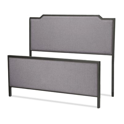 Duggan Upholstered Panel Headboard and Footboard Size: King