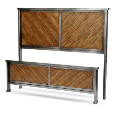 Yardley Panel Headboard and Footboard Size: King