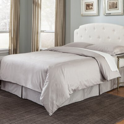 100% Cotton 3 Piece Duvet Set Size: King, Color: Sand