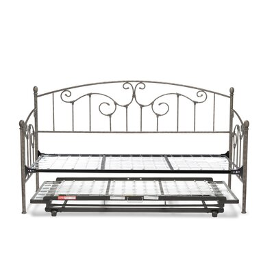 Marcy Metal Daybed with Vertical Spindles Accessories: Trundle Bed Pop-Up Frame