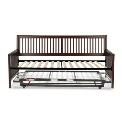 Alhambra Wood Daybed with Open-Slatted Panels Accessories: Trundle Bed Pop-Up Frame