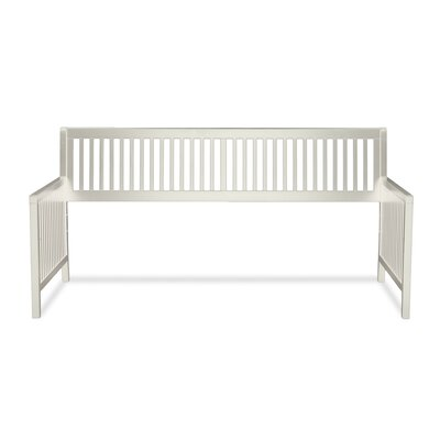 Chafin Wood Daybed Frame with Open-Slatted Back and Side Panels
