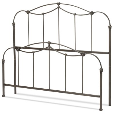 Ridgely Headboard And Footboard Size: King