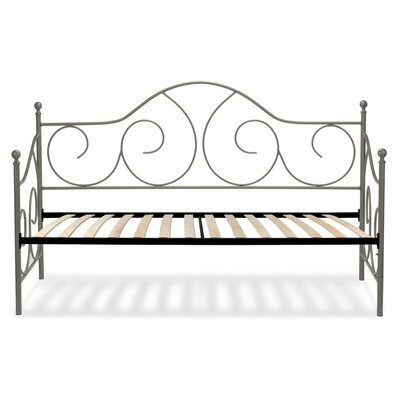 Steelton Metal Daybed Color: Matte Gray Flint