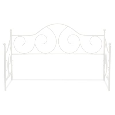 Steelton Modern Metal Daybed Color: Antique White