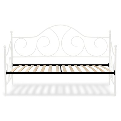 Steelton Metal Daybed Color: Antique White