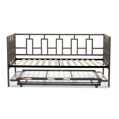 Flaugher Metal Daybed with Trundle