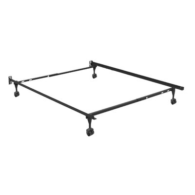 Sentry Adjustable Bed Frame with Headboard Brackets Size: Full