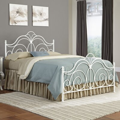 Avila Panel Bed Size: California King