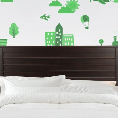 Uptown Panel Headboard Size: Twin