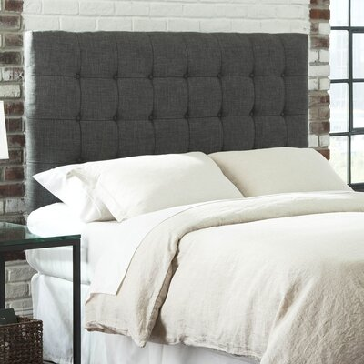 Athey Upholstered Panel Headboard Size: Queen