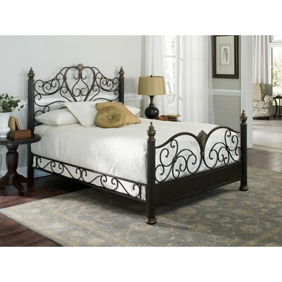 Easy furniture financing Elegance Metal Bed Size: Queen...