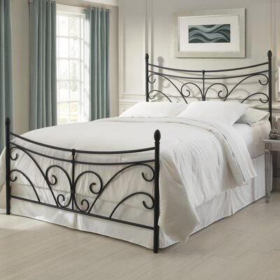 Easy financing Bergen Metal Bed Size: King...