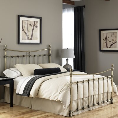 Furniture rental Leighton Metal Bed Size: Queen...